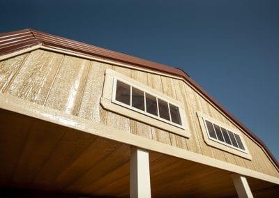 lofted cabin | Cardinal Portable Buildings