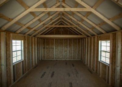 Victorian Cabin Interior | Cardinal Portable Buildings
